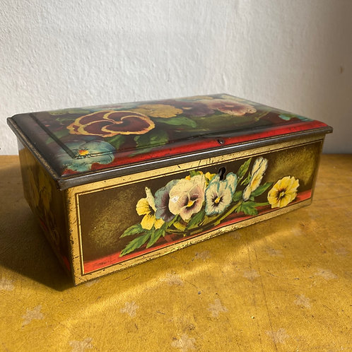 Early 20th C Lithographed Tin
