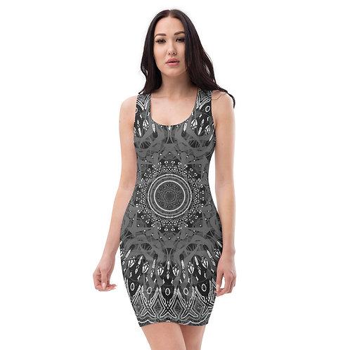 4H21 Oddflower 1 Sublimation Cut & Sew Dress