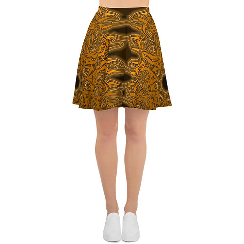 6W21 Gold V1 Skater Skirt