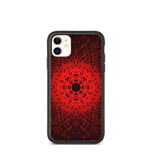 1V21 Spectrum Red Biodegradable phone case