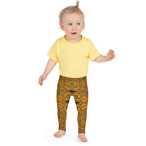 6W21 Spectrum Gold Kid's Leggings