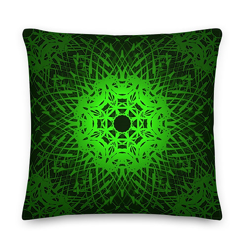 1X21 Spectrum Emerald Premium Pillow