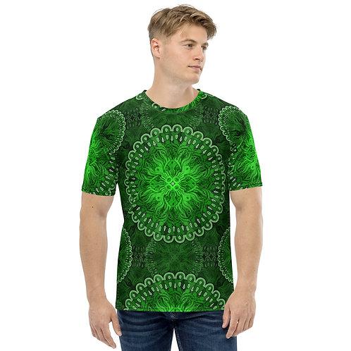 10O21 OddSpectrum Green Men's T-shirt