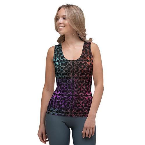 13. Multicolor Crossings I Sublimation Cut & Sew Tank Top