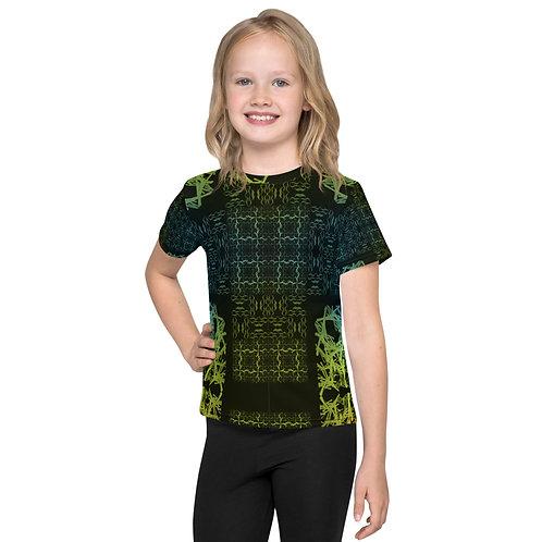 120V2 Barb Wire Colorwild I Kids T-Shirt