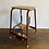 Thumbnail: 1950's Wood and Metal Folding Step Stool