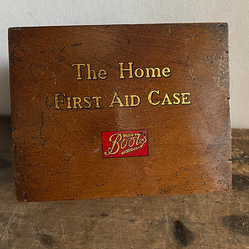 Vintage Boxed First Aid Kit