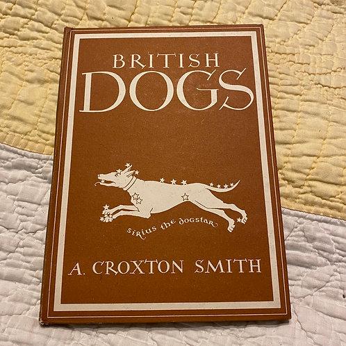 British Dogs 1945 Hardback