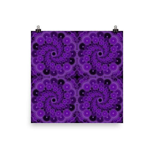 5Z21 Spectrum Violet | Matte finish Print
