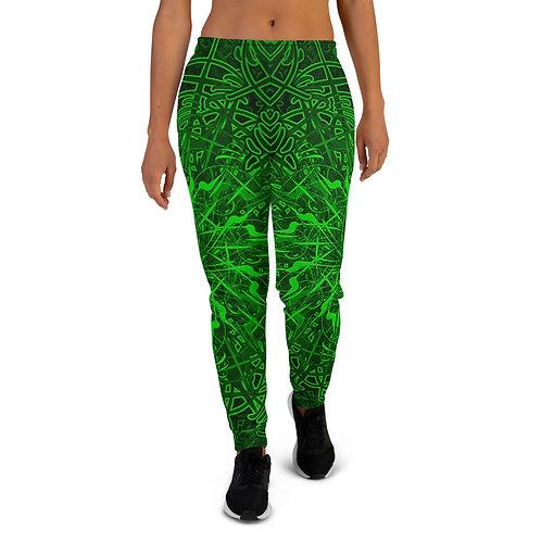 20O21 OddSpectrum Green Women's Joggers