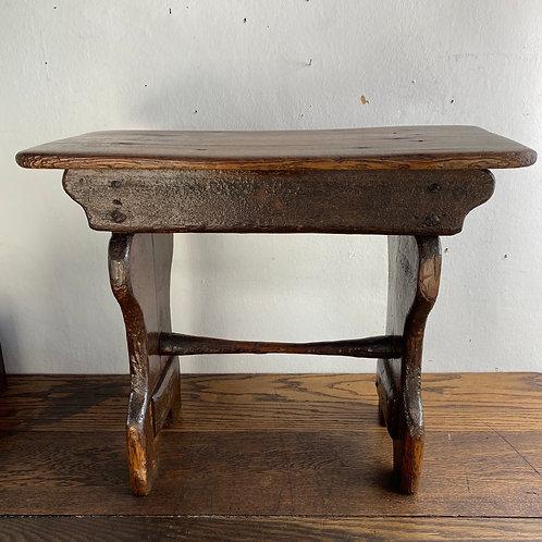 Antique Bench Stool