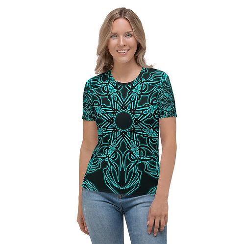 19X21 Neon Caribbean Women's T-shirt
