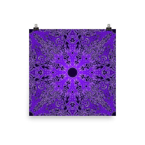 12Z21 Spectrum Violet | Matte finish Print