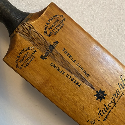 Vintage Hand Made Willow Cricket Bat
