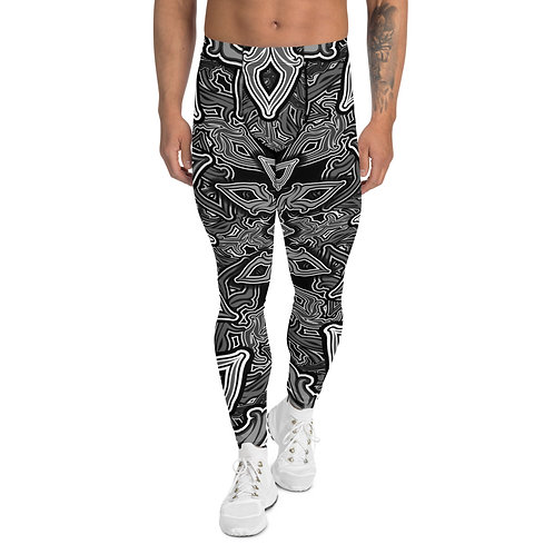 13F21 Oddflower Dahlia Men's Leggings