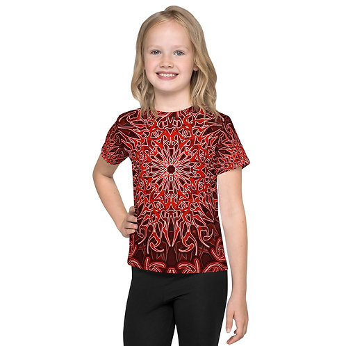 9V21 Spectrum Red Kids T-Shirt