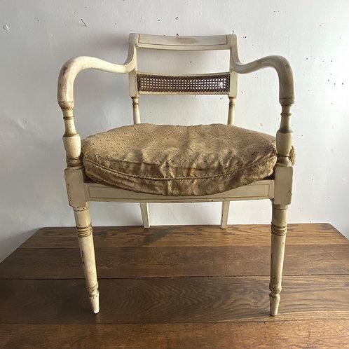 Regency Painted Bergere Chair