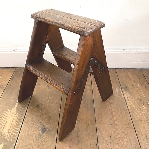 Vintage Wooden Double Sided Steps