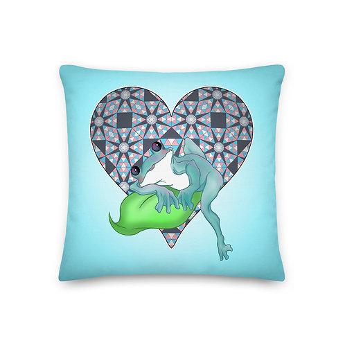 Taylor [Blue] Premium Pillow