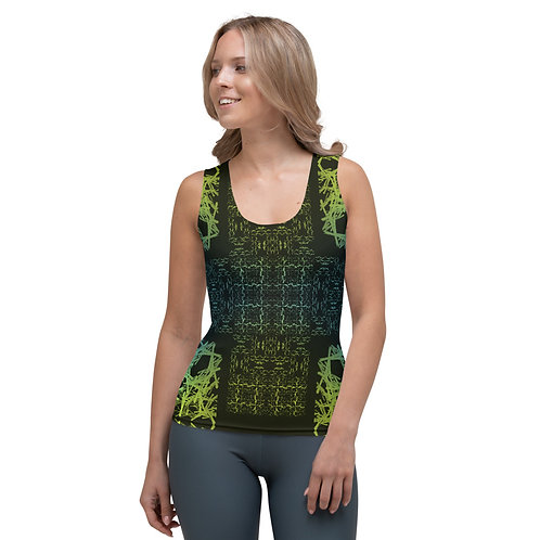 120V2 Barb Wire Colorwild I Sublimation Cut & Sew Tank Top