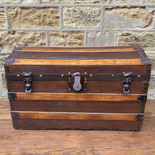 Domed Top Steamer Trunk
