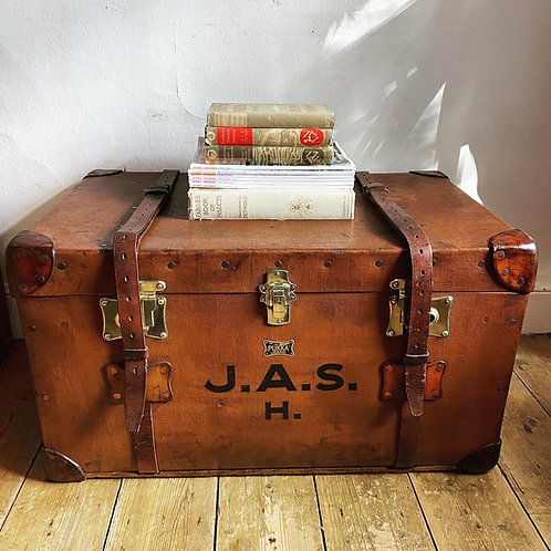 Antique Travel Trunk by Pukka