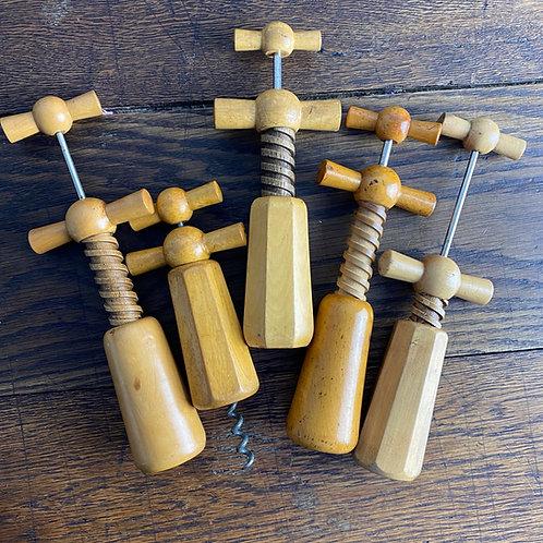 Vintage Boxwood Corkscrew