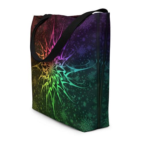 114 Flurry Colorwild I Beach Bag