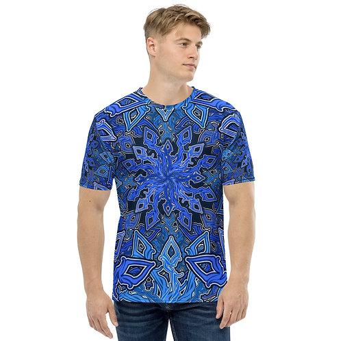 13D21 OddSpectrum Blue Men's T-shirt