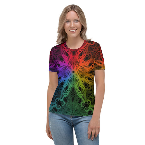 10A21 Spectrum Cosmos Women's T-shirt