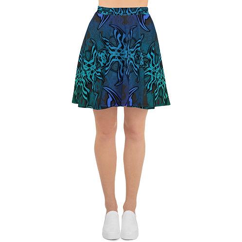 7C21 Spectrum Gray V6 Skater Skirt