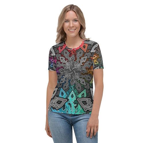 13M21 Oddflower Paradise Women's T-shirt