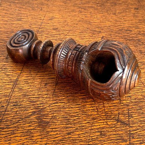 Vintage Carved Wooden Nutcraker