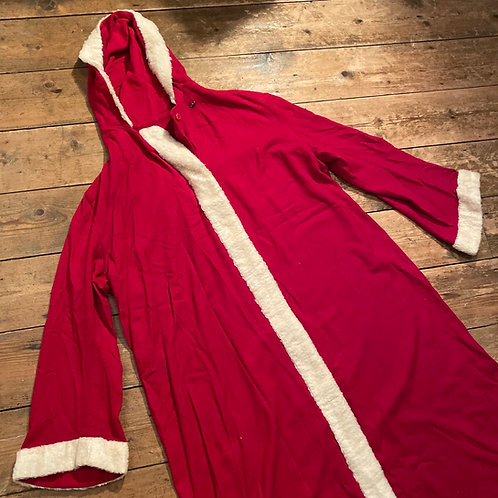 Large Handsewn 1940/50's Santa Claus Coat