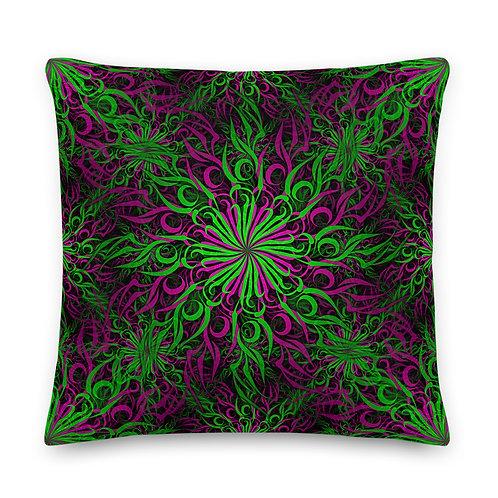 17D21 Spectrum Candy Emerald Apple Premium Pillow
