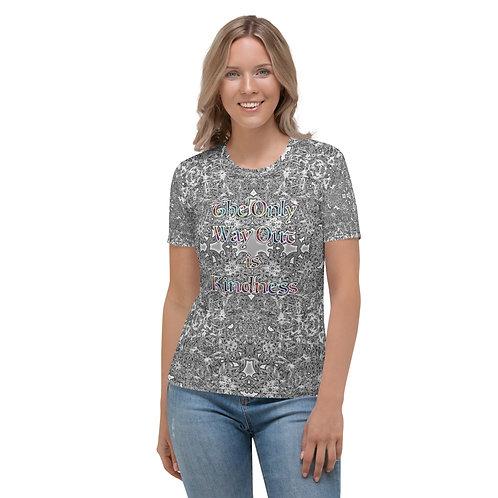 4A. TOWOI Kindness V2 Women's T-shirt