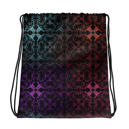 13 Multicolor Crossings I Drawstring bag