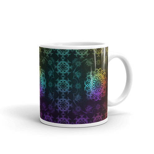 119 Stained Glass Colorwild I Mug