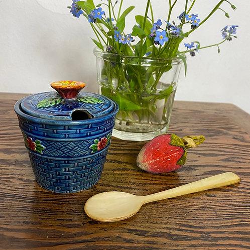 Vintage Japanese Jam Pot