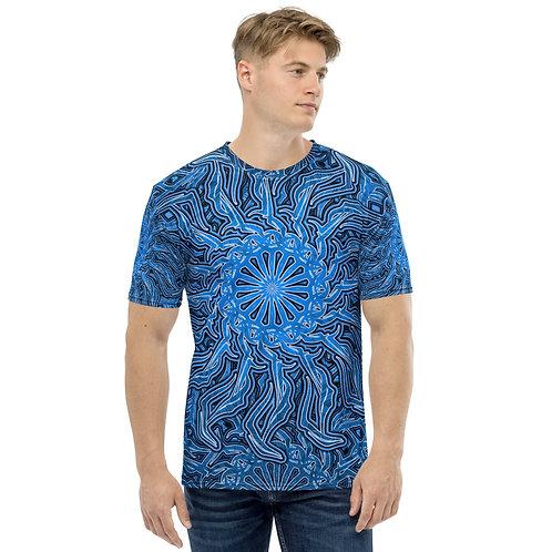 16P21 OddSpectrum Blue Men's T-shirt