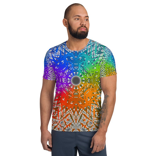 1G21SGWOwg V8 All-Over Print Men's Athletic T-shirt