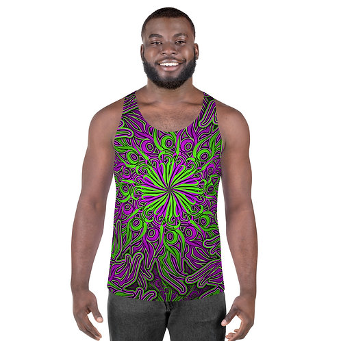 17O21 Candy OS Sour Apple Unisex Tank Top