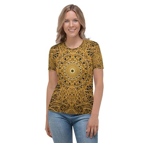 23Ñ21 OddSpectrum Yellow Women's T-shirt