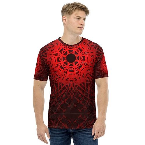 1V21 Spectrum Red Men's T-shirt
