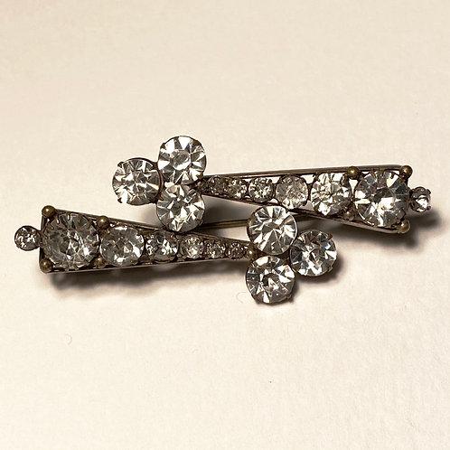 Antique Diamanté Evening Brooch