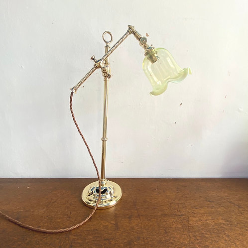 Antique Articulated Student Lamp