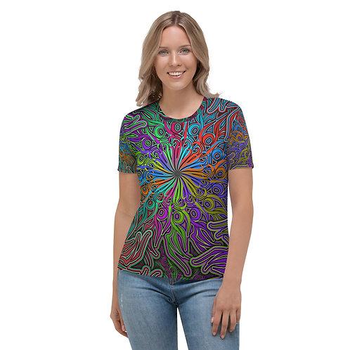 17R21 OddSpectrum Candy Swirl Women's T-shirt