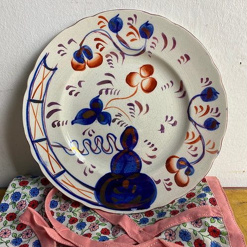 Gaudy Welsh Plate