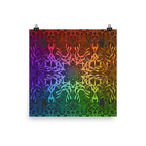 7C21 Spectrum Gray | Matte finish Print