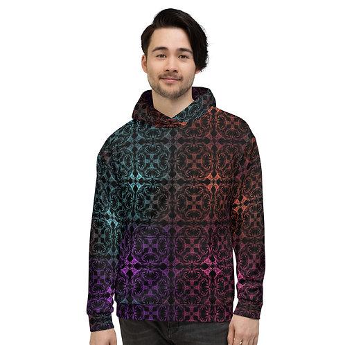 13. Multicolor Crossings I Unisex Hoodie